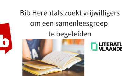 Bib Herentals zoekt twee vrijwillige begeleiders voor samenlezen met anderstaligen