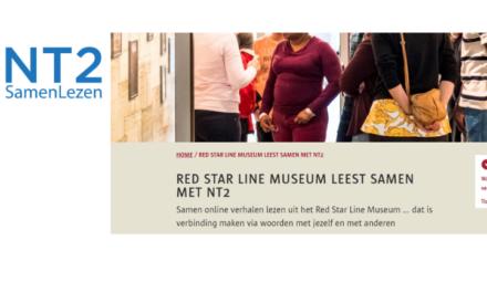 Samenlezen NT2 met het Red Star Line Museum